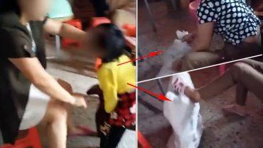Policja poszukuje wyrodnej kobiety, która udostępniła nagranie, jak znęca się nad kilkuletnią dziewczynką. Liczą, że znajdą ją szybko i odpowiednio ukarzą