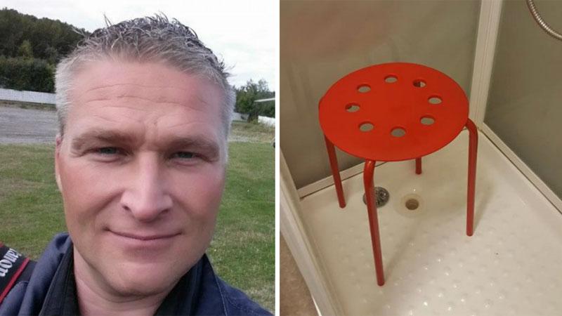 Krzesełko z Ikei o mały włos nie pozbawiło pewnego Norwega jego klejnotów męskości! Odpowiedź sklepu na ten fakt, rozbawiła nawet poszkodowanego