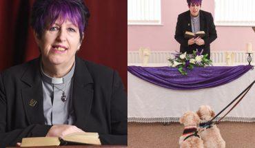 Założyła pierwszy kościół dla… zwierząt. Udziela im ślubów, a także odprawia pogrzeby!