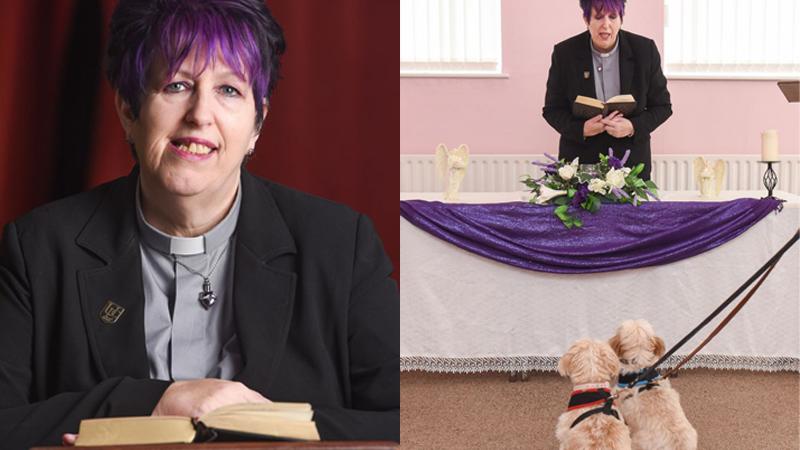 Założyła pierwszy kościół dla... zwierząt. Udziela im ślubów, a także odprawia pogrzeby!