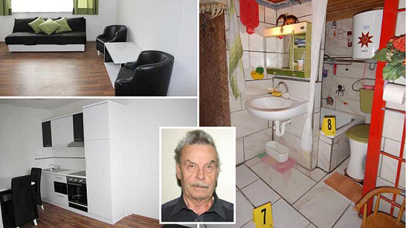 Josef Fritzl przez 24 lata gwałcił swoją córkę. Niemym świadkiem okrucieństwa było jego mieszkanie. Mroczne lokum można teraz wynająć. Jak myślicie, znajdą się jacyś chętni?