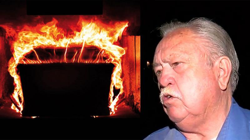 Chcieli spalić zwłoki mężczyzny, jakież było ich zdziwienie, gdy zamiast ciała zaczęło płonąć krematorium...