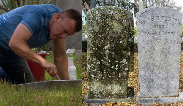 W każdej wolnej chwili bierze szczoteczkę do zębów i idzie na cmentarz. To, co tam robi jest zaskakujące