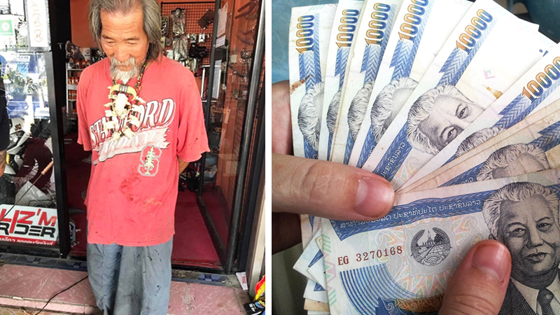 Sprzedawcy ignorowali tego staruszka, wtedy on wyciągnął grubą gotówkę i zażądał kolosalnie drogiej rzeczy! Zgadnij, co kupił?