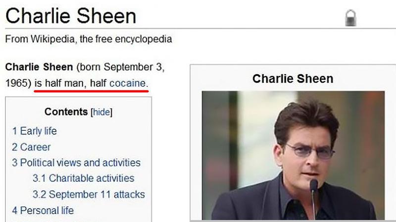 Kilka najśmieszniejszych wpisów z Wikipedii, których w porę nie zauważyli moderatorzy. Gdy je zobaczysz, popłaczesz się ze śmiechu!