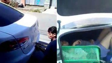 Już były chłopak zaatakował ją i pobił, a potem zamknął w bagażniku na pewną śmierć. Gdy już żegnała się z życiem, zdarzył się cud!