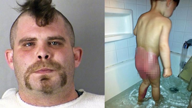 Wpadł w szał, bo 2-letnie dziecko partnerki poplamiło mu spodnie. To, co mu zrobił, zasługuje na najcięższą karę!
