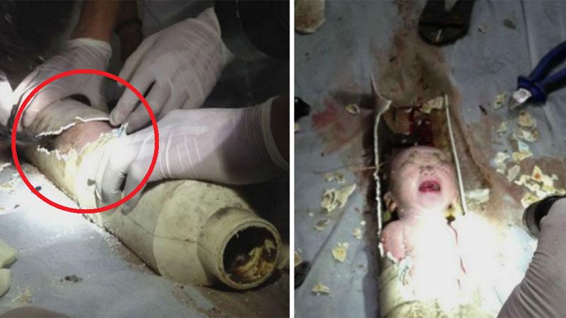 Młoda Chinka urodziła syna i spłukała noworodka w toalecie! Dziecko utknęło w rurze kanalizacyjnej, a strażacy wyciągnęli je w ostatniej chwili