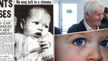 Ze sterty koców widać było tylko wielkie niebieskie oczy. Porzucony w toalecie kina Robert spędził 61, by dowiedzieć się coś o swoim pochodzeniu