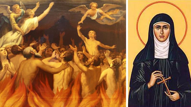 Diabeł jej nienawidzi! Odkryła jak wyciągnąć tysiące dusz z Czyśćca. Oto specjalna modlitwa!