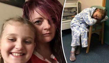 Przerażona dziewczynka trafiła do szpitala po tym, jak z jej rany wypełzło to…