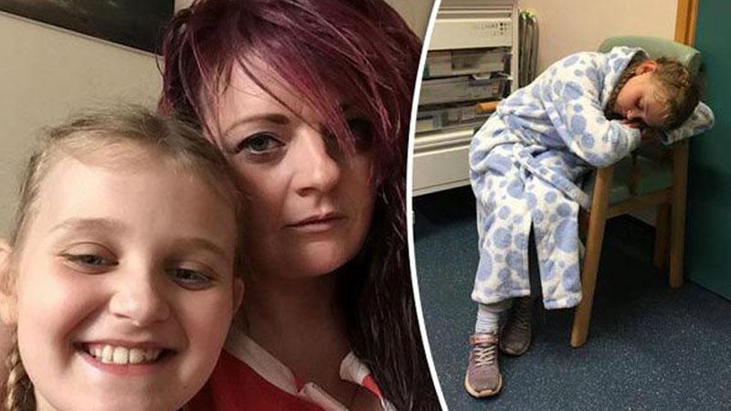 Przerażona dziewczynka trafiła do szpitala po tym, jak z jej rany wypełzło to...