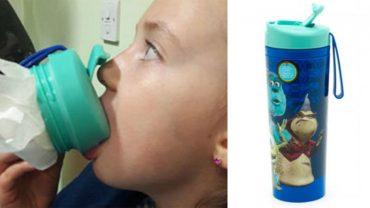 Język 7-letniej dziewczynki na kilka godzin utkwił w kubku Disneya! Firma w panice wycofuje produkt ze sklepu, a rodzice drżą o swoje pociechy