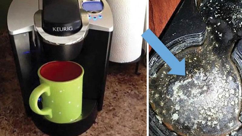 Ekspres do kawy może być śmiertelnym zagrożeniem! Sprawdźcie, co tak naprawdę skrywają wnętrza tych maszyn!
