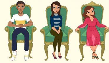 Sposób, w jaki siedzisz, zdradza twój charakter i poczucie pewności siebie. Usiądź, a powiem ci, kim jesteś!