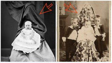 Pozując do zdjęć, wiktoriańskie kobiety chowały swe twarze pod narzutami. Powód, dla którego to robiły jest dziwny i niespodziewany…