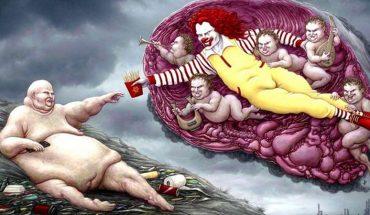 John Holocraft brutalnie demaskuje prawdziwe oblicze współczesnego świata! Jego ilustracje budzą niepokój, który na długo pozostaje w człowieku…
