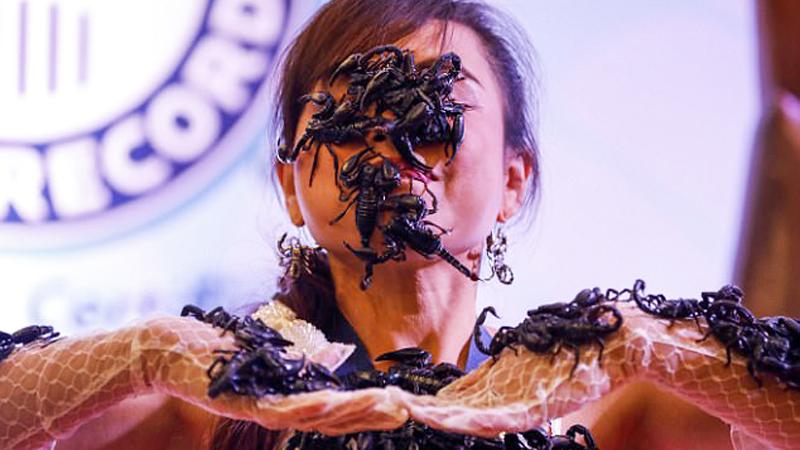 Kanchana od słodkich szczeniaczków woli jadowite pajęczaki. Królowa skorpionów jako jedyna Tajka figuruje w Księdze rekordów Guinnessa. Zobacz koniecznie, co zrobiła by tam trafić!