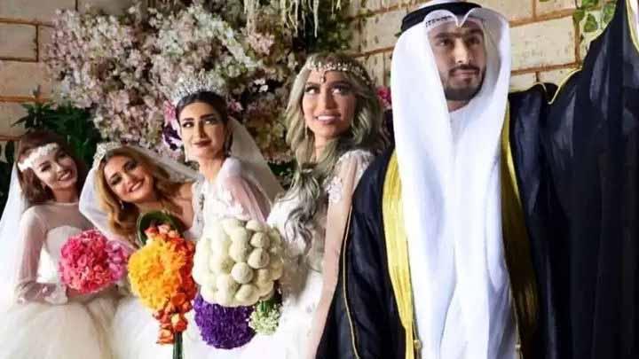 Bogaty Arab ożenił się z 4 kobietami tego samego dnia. Powód, dla którego to zrobił, zwala z nóg!