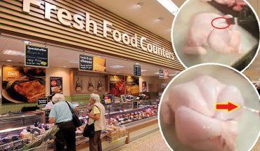 Największe sieci hipermarketów pompują kurczaki podejrzaną cieczą! Po obejrzeniu tego nagrania, już nigdy nie kupicie drobiu w wielkopowierzchniowym sklepie