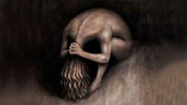 Skulona kobieca postać czy czaszka? To, co najpierw zobaczyłeś na tym rysunku, wiele mówi o twoim obecnym stanie emocjonalnym