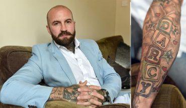 Kiedy robił sobie tatuaż z imieniem ukochanej córeczki, nie myślał, że wkrótce patrząc na niego, będzie czuł przeszywający ból…
