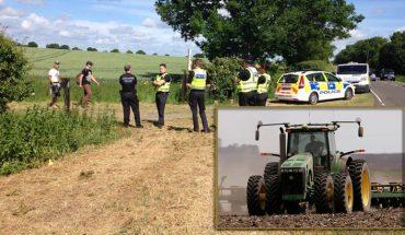 Na polu, które uprawiał, obóz rozbiło 200 nieproszonych gości. Kiedy z imprezowiczami nie poradziła sobie policja, rolnik wsiadł na traktor i dał im niezapomnianą nauczkę!