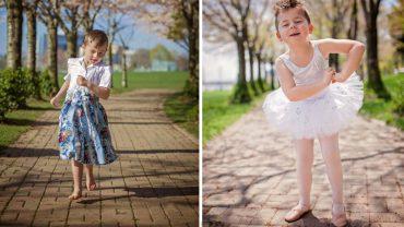 Ten 5-letni chłopiec na co dzień chodzi ubrany w sukienki i spódniczki, a jego rodzice w pełni popierają jego wybór! Czy to rozsądne z ich strony?