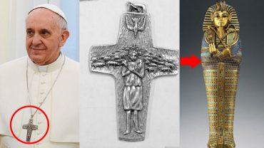 Co naprawdę oznacza symbol na krzyżu papieża Franciszka?! Oto odpowiedź, która zaskoczyła wielu!