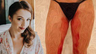 Artystka użyła własnej krwi, by namalować ten obraz. Chciała w ten sposób uwypuklić jeden istotny problem…