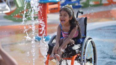 W tej krainie czarów wszystko jest możliwe! W Teksasie otworzono Morgan's Wonderland pierwszy na świecie park wodny dla niepełnosprawnych. Najwięcej radości mają z niego dzieci!