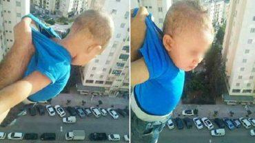 Straszył na Facebooku, że jeśli nie dostanie 1000 lajków, zrzuci syna z balkonu! Dziecko znajdowało się na 15 piętrze wieżowca