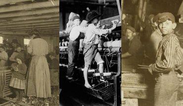 Bieda i ciężka praca, tak wyglądało życie dzieci sto lat temu. Kolekcja zdjęć przenosi nas w zupełnie inny świat, gdzie 4-latki pracowały od świtu
