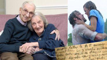 Jack przez 70 lat małżeństwa prowadził dzienniki, teraz gdy jego żona cierpi na demencję, czyta jej codziennie, jak wyglądało ich życie. Przypomina wam to coś?