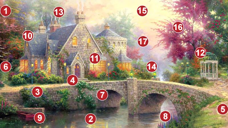 Magiczny domek. Wybierz numer i dowiedz się, co cię czeka!