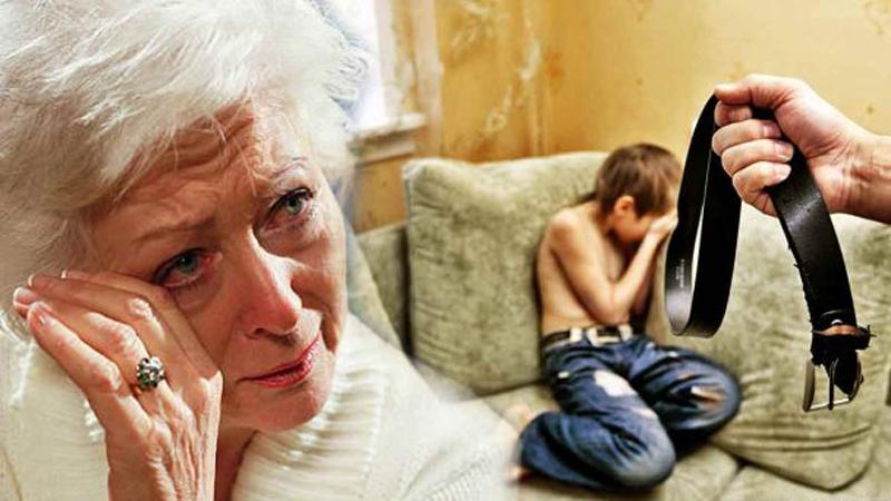 Babcia wezwała policję, bo nie mogła poradzić sobie z upośledzonym umysłowo wnuczkiem. Funkcjonariusze, zamiast jej pomóc, wręczyli kobiecie pas i kazali zbić dziecko