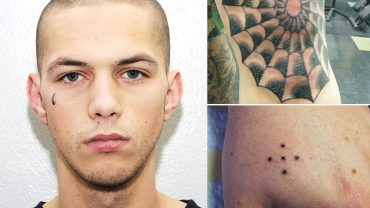 Po tym tatuażu poznasz, że masz do czynienia z kryminalistą. Oto najpopularniejsze z więziennych tatuaży i ich ukryte znaczenia