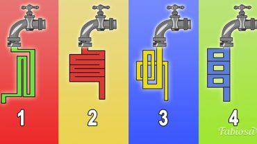 Z którego kranu najszybciej popłynie woda? Wybór powie ci co nieco o twojej inteligencji!