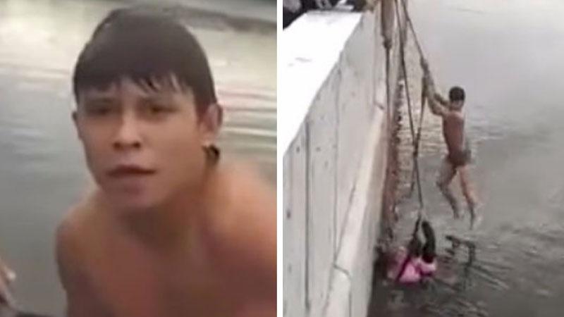 Ten 16-latek jako jedyny z tłumu kilkudziesięciu gapiów pomógł ojcu ratować jego tonące córki! Czy to zdarzenie odmieni jego smutny los?