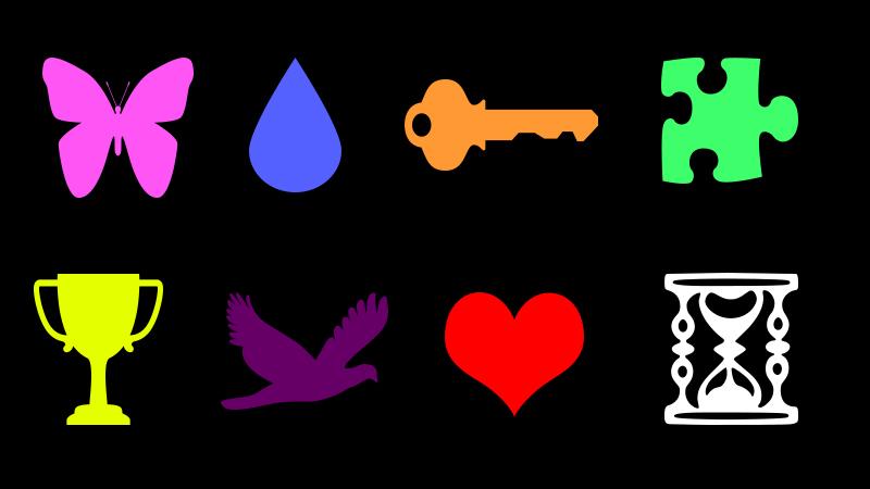 Te proste symbole mają ukryte znaczenia. Wybierz jeden i dowiedz się czegoś bardzo interesującego!