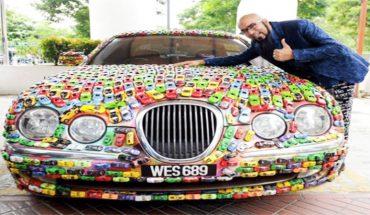 Samochód tego biznesmena przykuwa uwagę wszystkich ludzi. Trzeba podejść bliżej, aby zrozumieć, dlaczego jest tak niepowtarzalny!