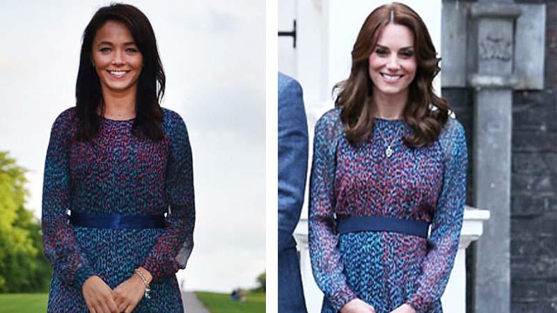 Od lat zwykła dziewczyna kopiuje styl księżnej Kate. Która wygląda lepiej w tych stylizacjach?