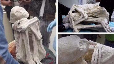 W rejonie płaskowyżu Nazca znaleziono humanoidalną mumię! Czy to w końcu niezaprzeczalny dowód, że naszą planetę w starożytności nawiedzali obcy?