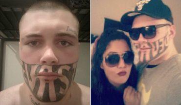 19-latek z tatuażem na pół twarzy narzeka, że nie może znaleźć pracy. Zatrudnilibyście go?
