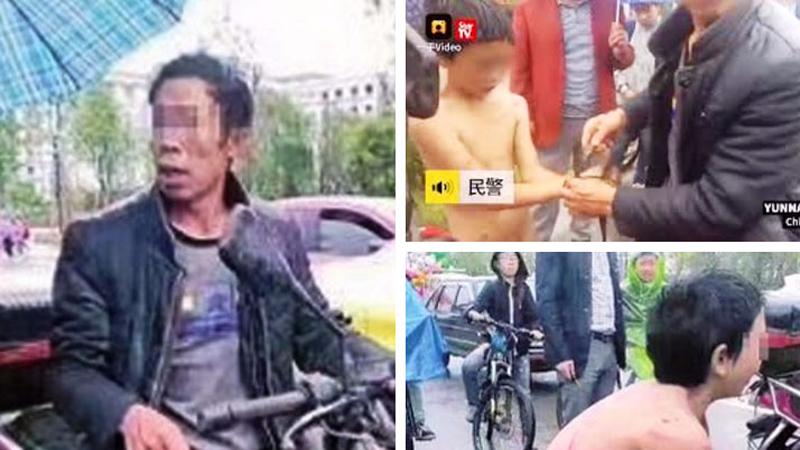 Ojciec przeciągnął motorem nagiego syna po betonie! Dla 12-letniego dziecka była to kara za wagary i kradzież 20 dolarów!
