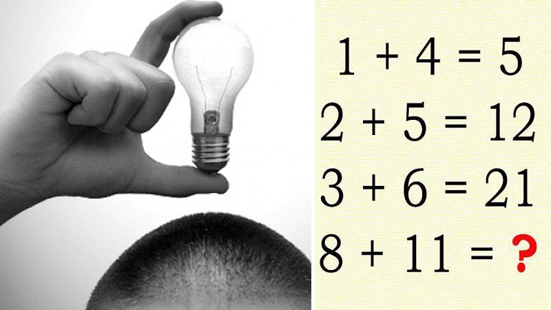 Na tej niepozornej zagadce wykładają się nawet matematycy. Tylko jedna osoba na tysiąc potrafi znaleźć dwa możliwe rozwiązania. Jesteś jedną z tych osób?