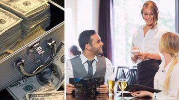 Bogata kobieta próbuje upokorzyć kelnerkę w ekskluzywnej restauracji. Wtedy do akcji wkracza kierownik sali i bogaczka dostaje za swoje