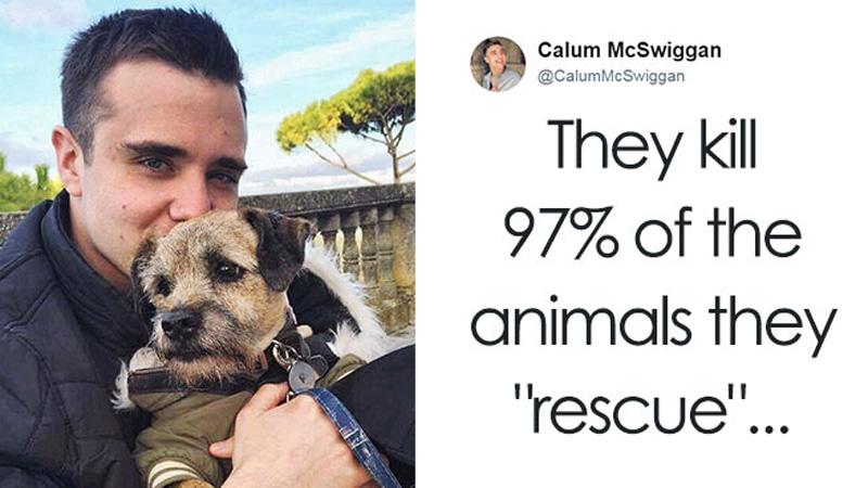 """Ten mężczyzna bardzo naraził się PETA, gdyż ujawnił, wiele absurdów i faktów m.in. że 97% """"ratowanych"""" zwierząt ginie"""