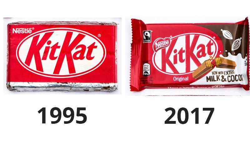 Porównano skład Kit Kata z 1995 i z 2017 roku. Różnice są ogromne a konsumenci mocno rozczarowani!