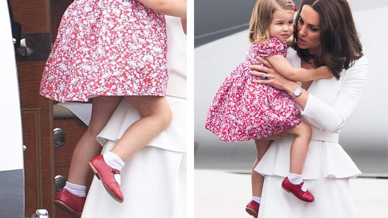 Cały świat mówi o bucikach księżniczki Charlotte podczas wizyty w Polsce! Ich sekret ujawnili dociekliwi dziennikarze